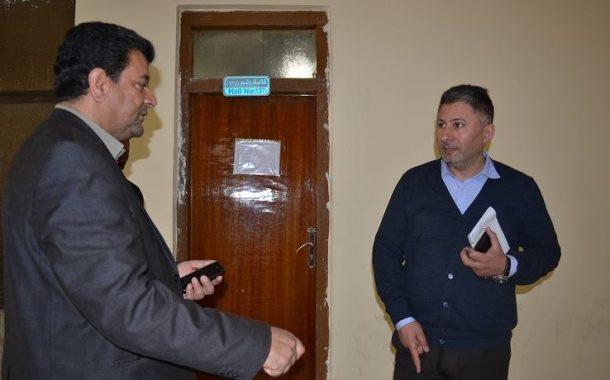 زيارة السيد عميد الكلية الى قسم الرياضيات وتطبيقات الحاسوب