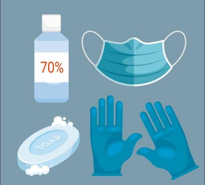 *اتباع اجراءات الوقاية الخاصة بالصحة العامة لها دور فعال في الحد من خطر الإصابة*