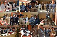 نشاط مشترك – معرض لمديرية الدفاع المدني في المثنى